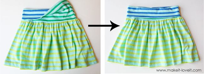 Okay this is what I'm doing with some extra shirts I have. Repurposing: Shirt into Skirt with Yoga Style Waistband