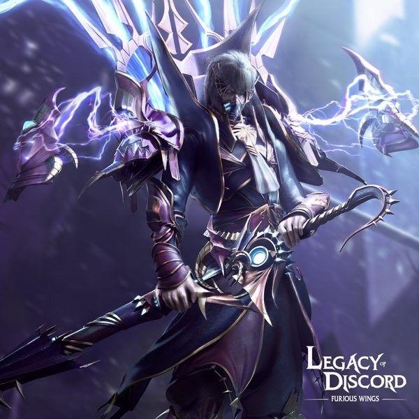 Legacy of Discord | Artworks 5(5) in 2019 | Fantasy warrior