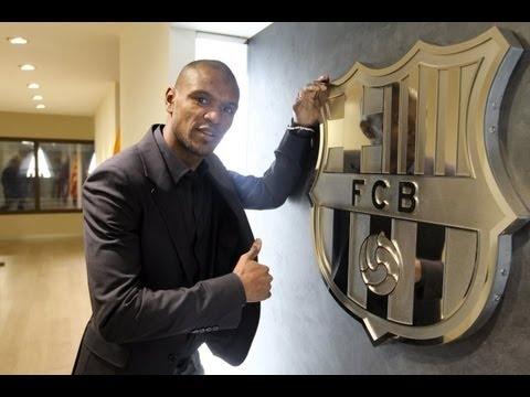 FC Barcelona - Merci Abidal! - YouTube