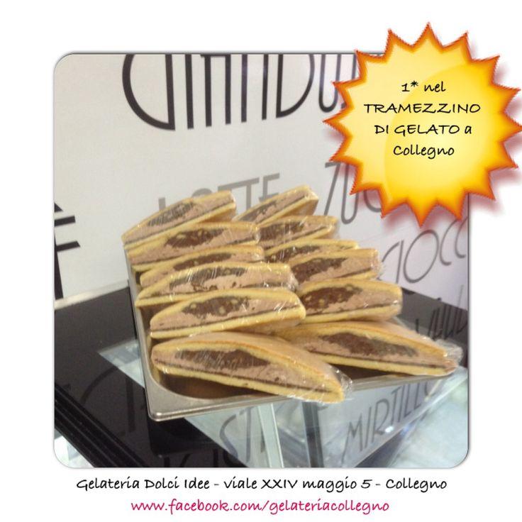 Tramezzino di gelato #collegno #grugliasco #rivoli #druento #pianezza #alpignano #torino #turin #gelato #gelateria #cakedesign #glutine #happycollegno