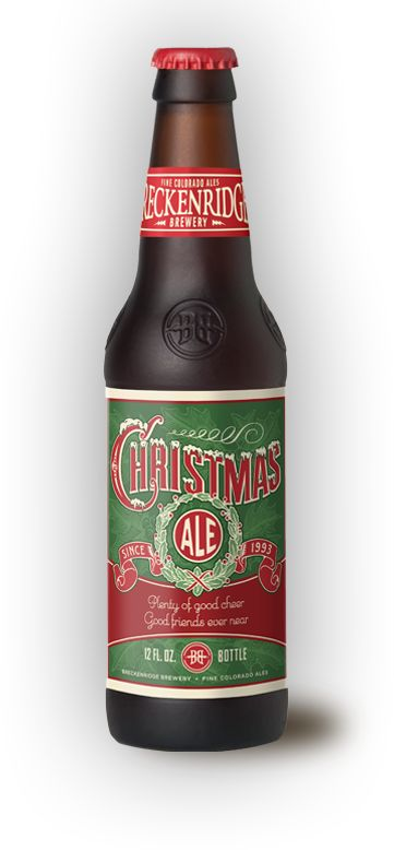 Breckenridge Christmas Ale - Very yummy, and I must think of a project to do with the gorgeous bottles!