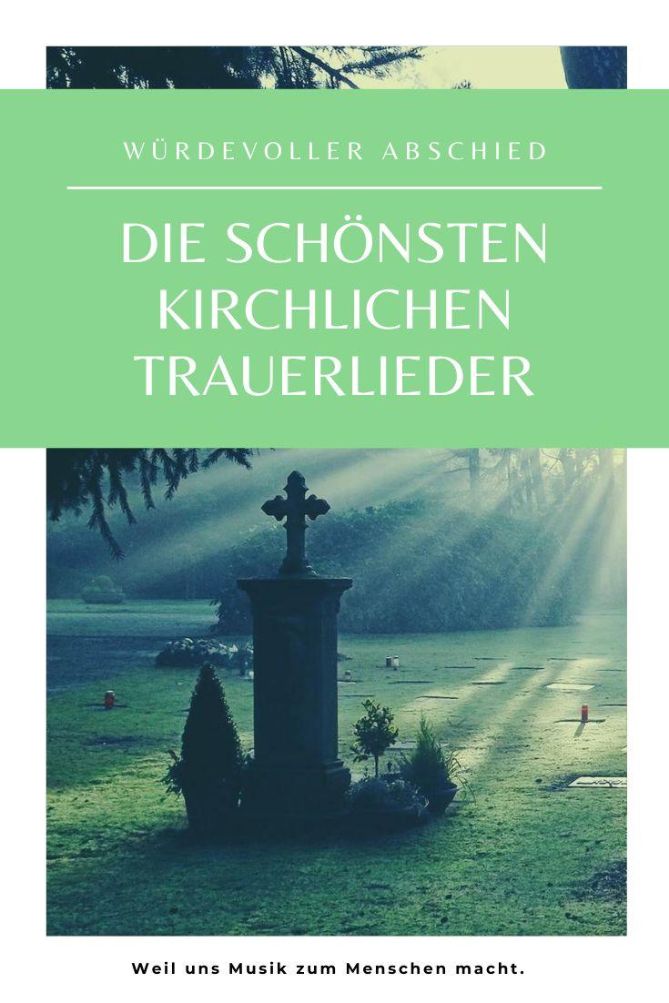 Kirchenlieder Trauer