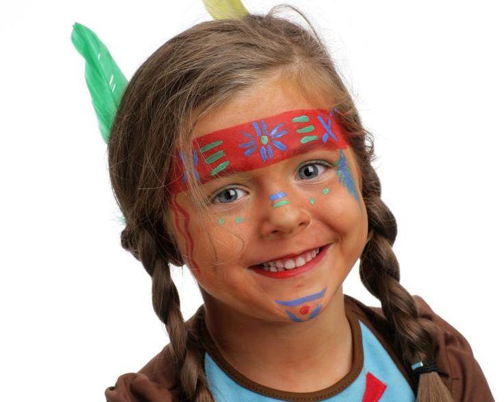 Kinderschmink, voorbeelden kinderen schminken, carnaval kinder schmink