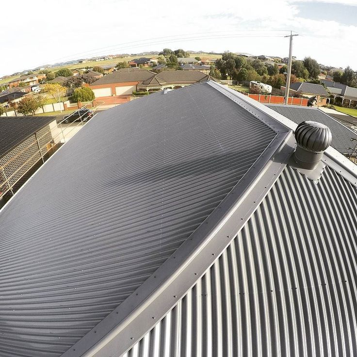 Whirly Bird and Roof installation in Warrnambool. Check out the screw lines from our new apprentice Ben! Well Done mate! @b.williams8  #Basalt #RoofPlumbing #RoofPlumber #Plumbing #WhirlyBird #SouthWestVictoria #SouthWest #Corregated #Quality #ElevateRoofPlumbing #ERP #ColorBond #ColorbondRoof #ColorbondRoofing #ColorbondSteel #SmallBusiness #Ridging #RoofPorn #Plumbing #Warrnambool #3280 by elevateroofplumbing