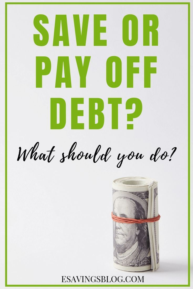 Should You Save or Pay off Debt? Ask Yourself These Questions!