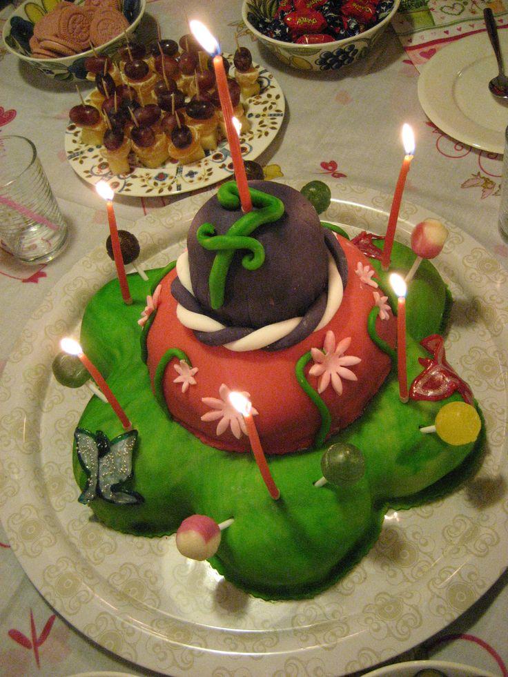 Marsa's three layer birthday cake