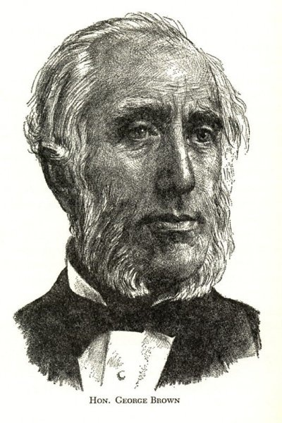 Hon. George Brown, a Father of Confederation.
