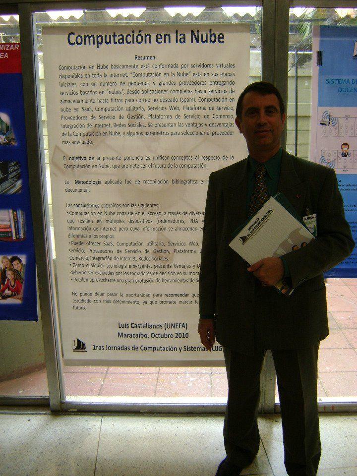 Cloud Computing. Jornadas UJGH. Maracaibo, 2010.