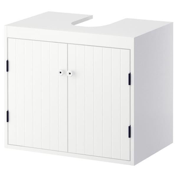 Silveran Element Bas Lavabo 2 Portes Blanc Ikea Suisse Waschbeckenunterschrank Ikea Waschbeckenunterschrank Unterschrank