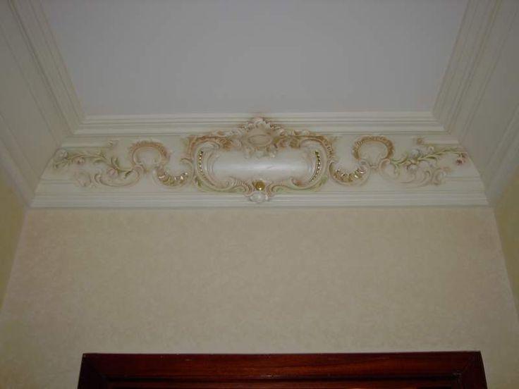 Dipingere artisticamente gli stucchi decorativi 6