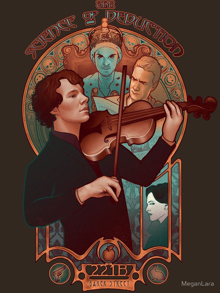 """""""The Science of Deduction"""" T-Shirts & Hoodies by MeganLara   Redbubble"""