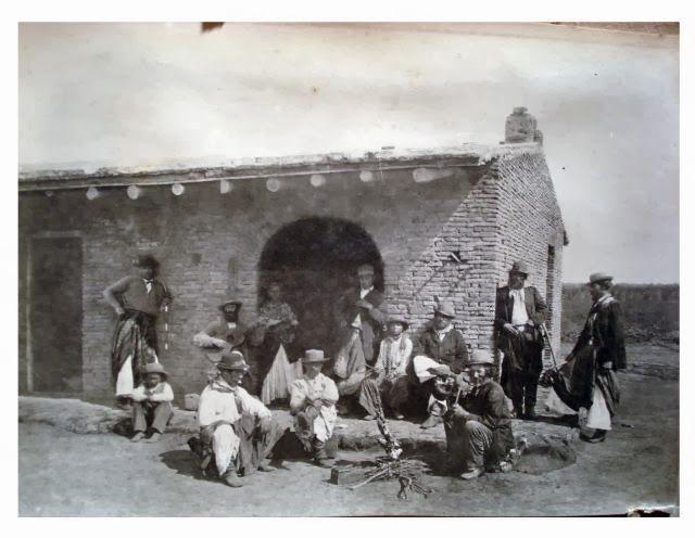 """Esgrima Criolla: Fotos antiguas de indios, duelos, gauchos y campañas """"segunda parte"""""""