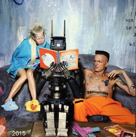 Die Antwoord's Ninja and Yolandi Visser in Chappie