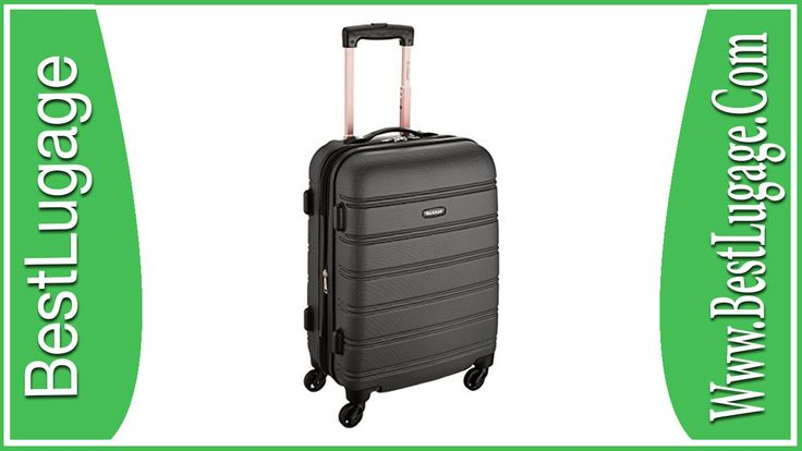 Rockland Melbourne 20″ Expandable Abs Carry On Luggage Review - BestLugage