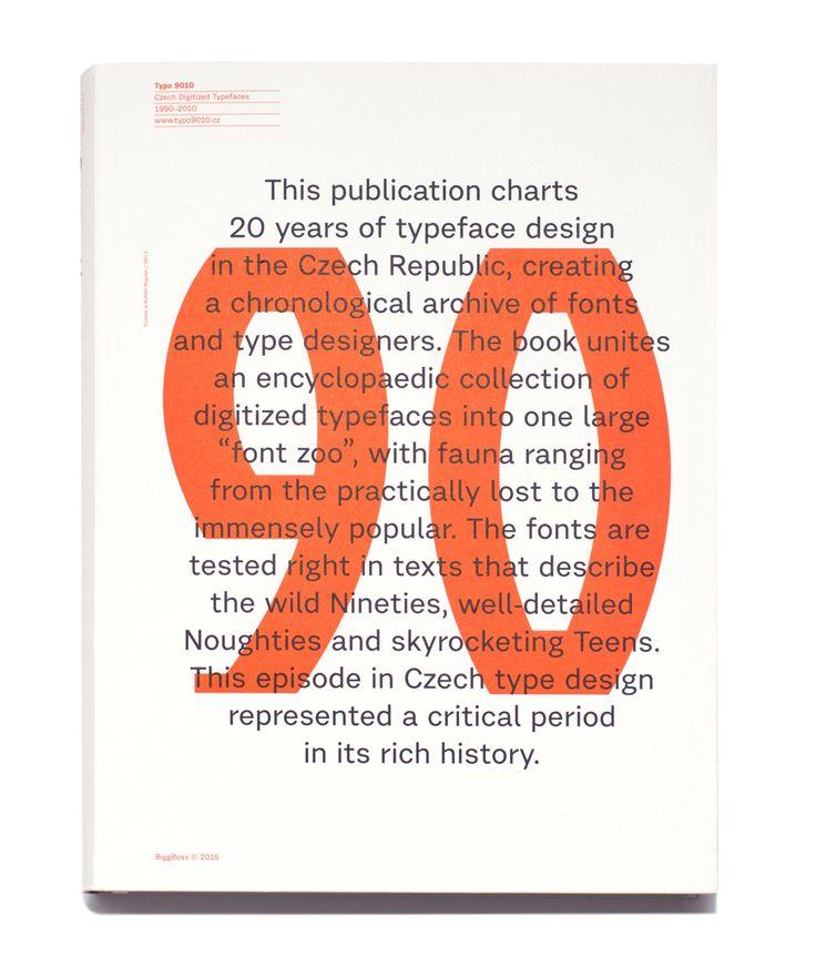 Typo 9010 – České digitalizované písmo 1990–2010 | Studio Najbrt