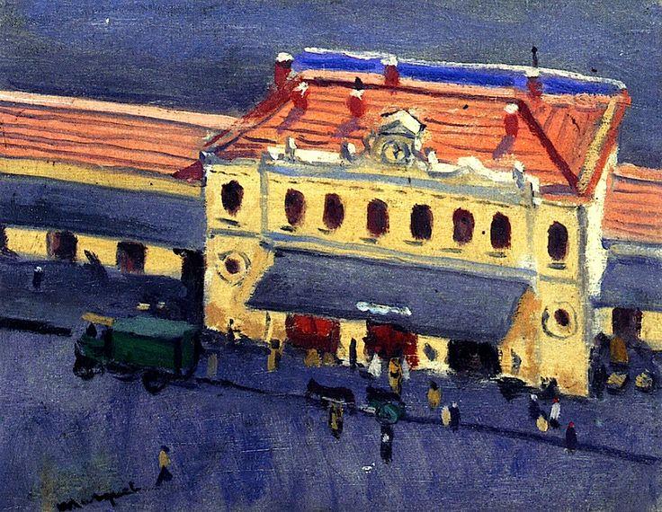 Albert Marquet (French, 1875-1947) > La Gare d'Alger, 1922
