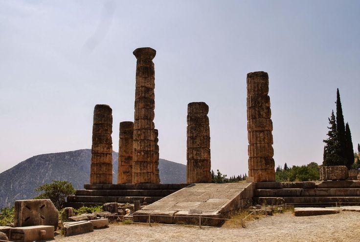Ναός του Απόλλωνα, Δελφοί Φωκίδα.