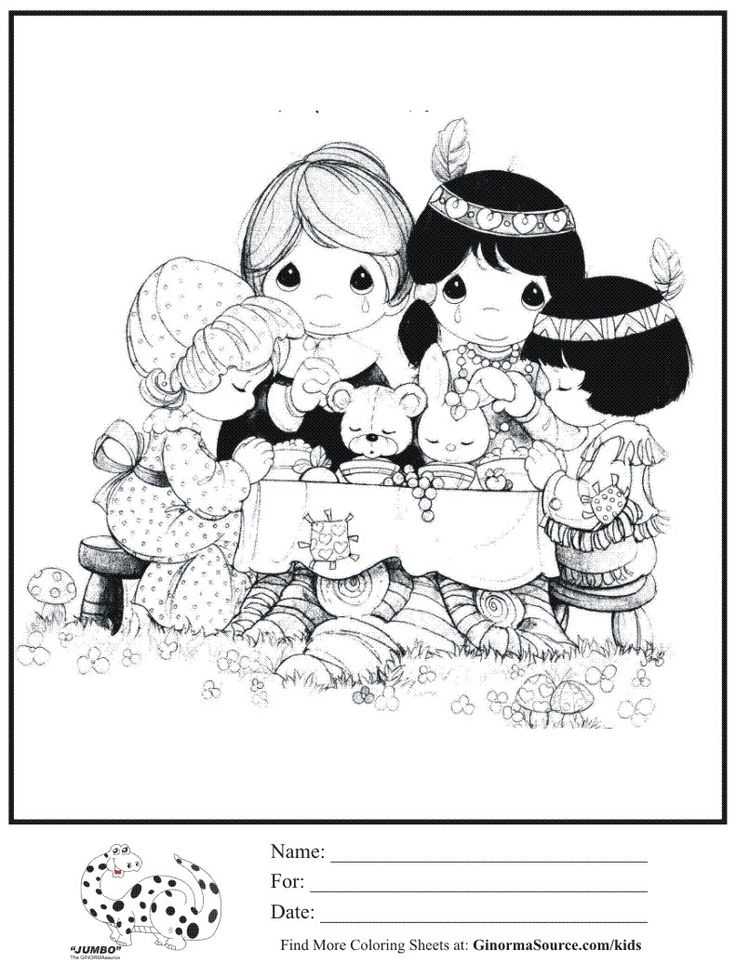 coloring pages of pilgrims coloring page precious moments pilgrims indians thanksgiving coloring