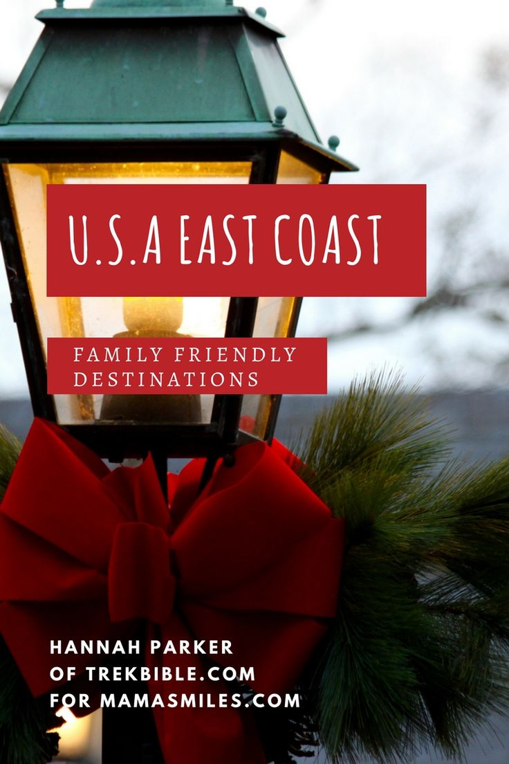517 best traveling with kids images on pinterest trips for Best christmas towns on east coast