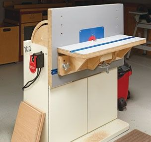 This is a nifty router table combo. Incredibly versatile. Ive seen horizontal router tables but never one where the fence becomes the table. Very clever indeed!
