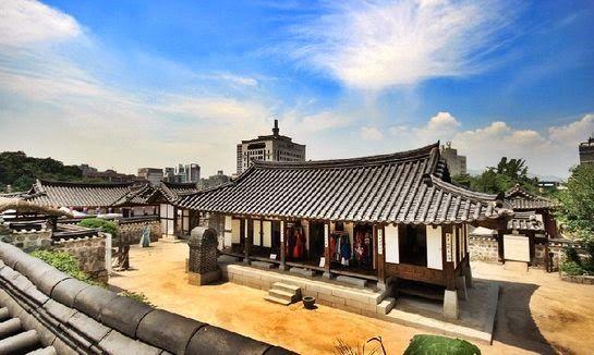 Contoh Desain Halaman Rumah Ala Tradisional Korea   Desain Rumah