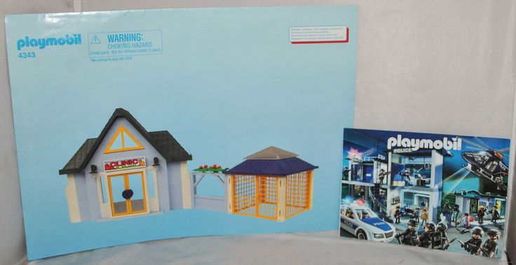 Playmobil Original Instructions Only for Set #4343 (Pet Clinic) & Catalogue 2011