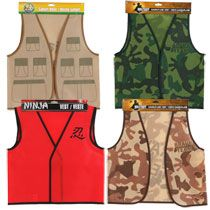 Safari Vest -- Bulk Dress-Up Vests at DollarTree.com