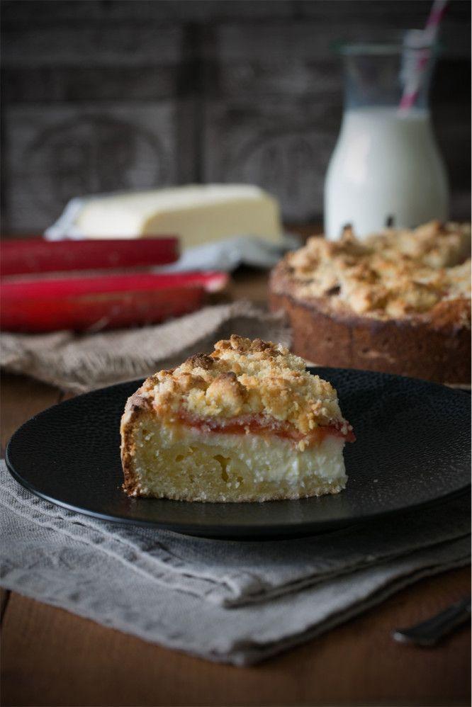 Rhabarber Frischkase Kuchen C Ich Machs Mir Einfach Kochen