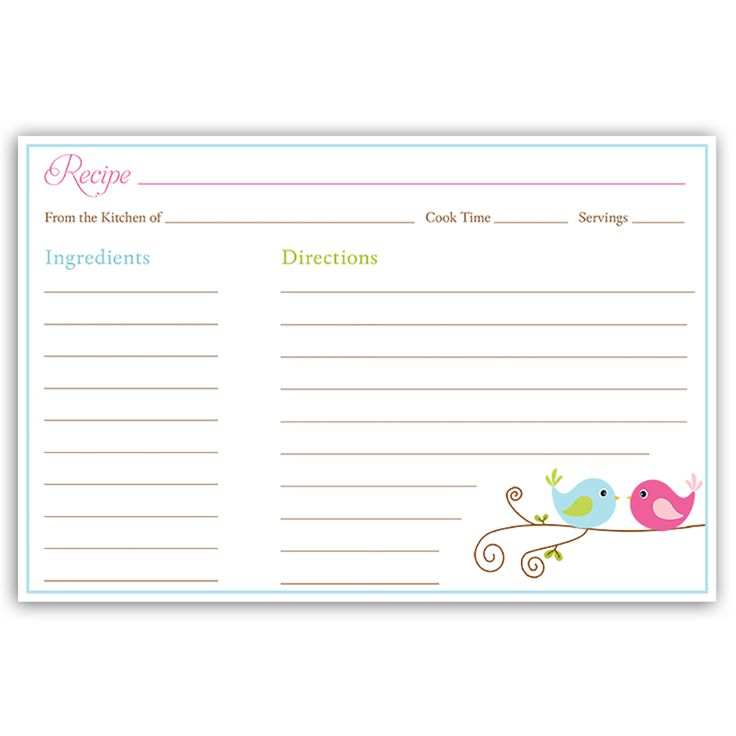 Index Card Template blank 3x5 index card template recipe page – Word Recipe Card Template