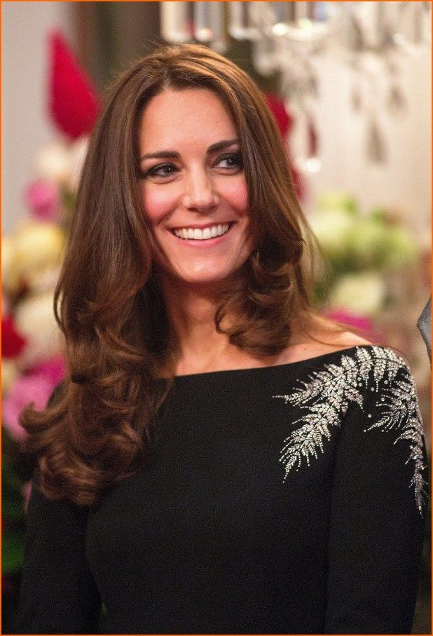 Kate Middleton New Hair Style Sophisticated And Elegant Elegant