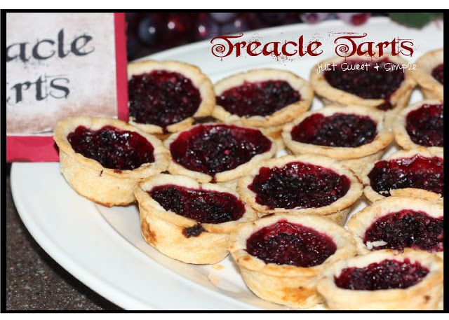 just Sweet and Simple: Harry Potter Treacle Tarts