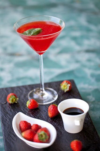 Shoyu Martini at Martini Bar