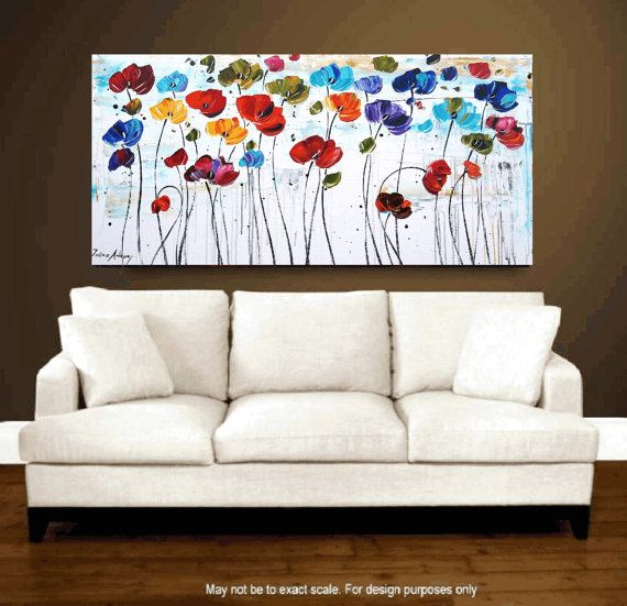 original painting abstract painting landscape by jolinaanthony, $339.00
