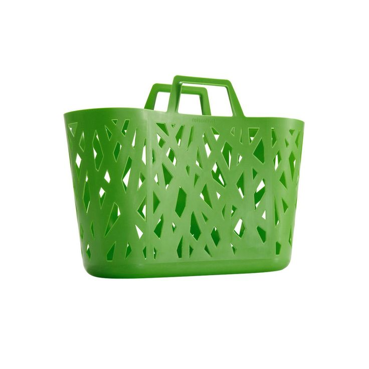 "Reisenthel - Sporta ""Nestbasket"", colore: Verde taglia unica verde: Amazon.it: Valigeria"