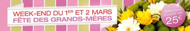 """La photo de couverture Facebook de notre boutique Au sabot de Vénus """"Fete des Grands-mères"""""""