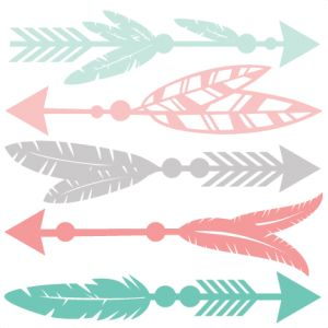 (Daily Freebie) Feather Arrow Set    - Available for today only, Jan. 22