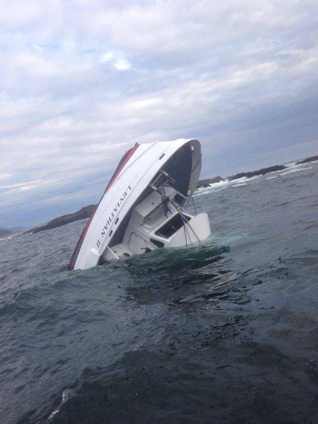 Tour Boat Sinks in Canada, Five Dead