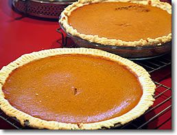 """Lactose-Free Pumpkin Pies, Teresa Miles says, """"It's the bomb!  Since  I can't have dairy and my favorite meal is dessert, coconut milk has saved the day!"""""""
