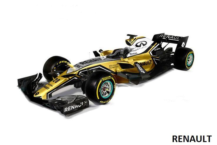 Renault F1-2017 Designs S. Bull