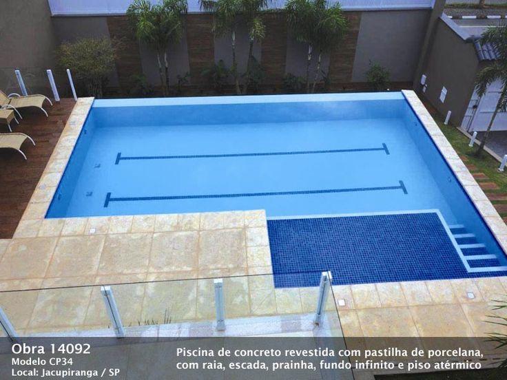 25 melhores ideias de piscina de concreto no pinterest - Cemento para piscinas ...