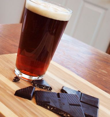 Valrhona Chocolate Beer Pairings! When tasting chocolates, you focus on fragrance (what you initially smell when you open the package), feel (the texture of the chocolate as it melts in your mouth), flavor (what you taste that may be different than what you smell) and finish (the lingering effects in the mouth).  It is important to look at each of these elements when sampling beer as well.