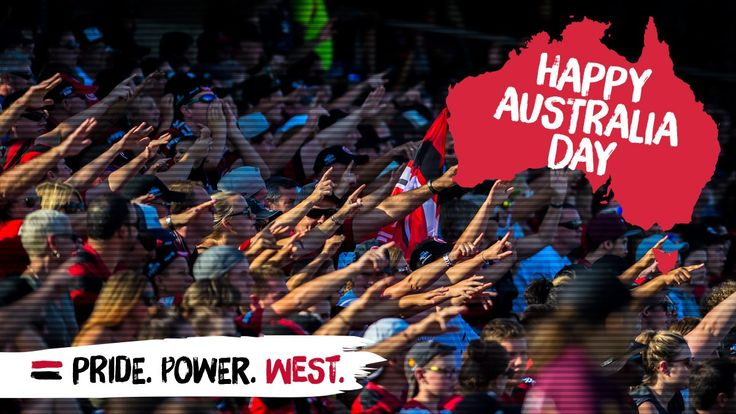 """Happy Australia Day! #WSW"". On Australia Day 2013, I was so moved by the RBB that I decided to become a Western Sydney Wanderers supporter, on the hill behind Pirtek Stadium, there and then..."