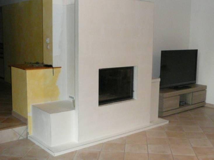 rnovation chemine rustique contemporaine vers marignane r1 chemines et poles bois - Cheminee Contemporain Villa Marocaine