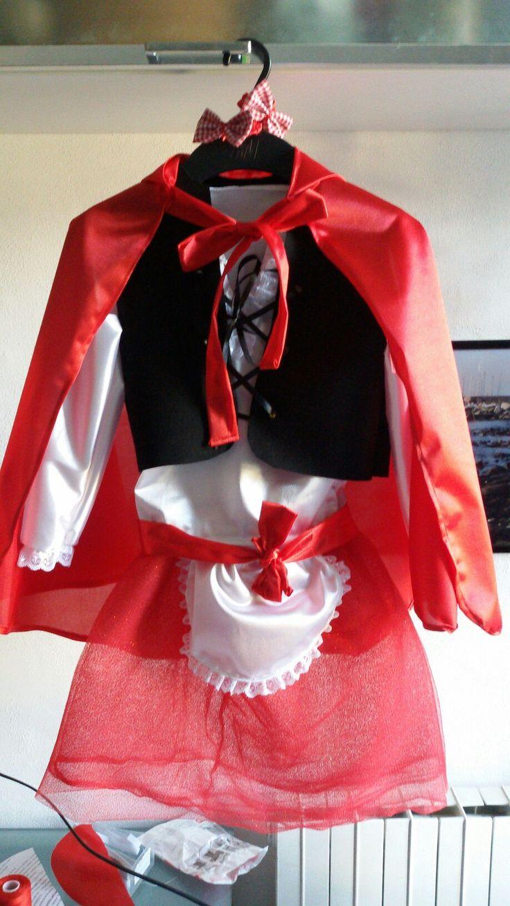 Costume bimba cappuccetto rosso
