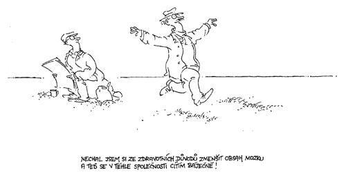 Kreslený humor - MISANTROPOVA ČÍTÁRNA