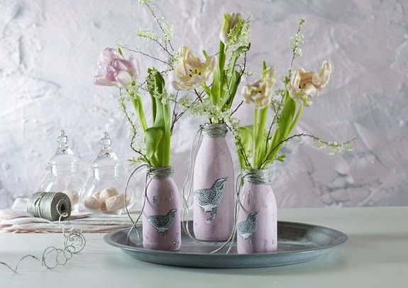 Dekotipp: Tierische Vasen für Frühlingsblumen
