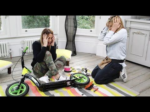 WATCH: Nicole Appleton & Melanie Blatt take on our flatpack furniture challenge.