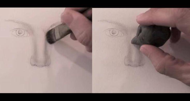 paso 7 para dibujar una nariz realista