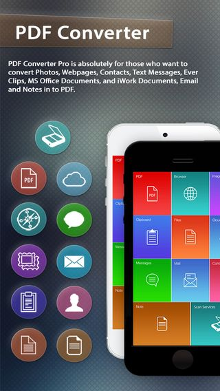 Free PDF converter app for iPhone & iPad