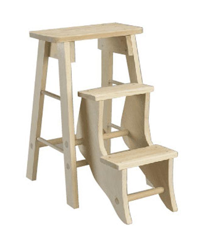10 Easy Diy Step Stool Plans Stool Wooden Steps Wooden Diy
